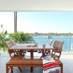 Enjoy your Noosa Quays spacious balcony with waterfront views